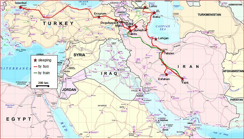 Turkei Iran Aserbaidschan